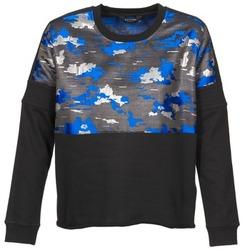 Abbigliamento Donna Felpe Eleven Paris FORTEX Nero / Blu