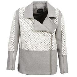 Abbigliamento Donna Cappotti Eleven Paris FLEITZ Grigio / Beige