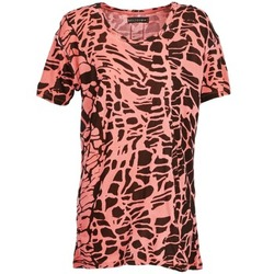 Abbigliamento Donna T-shirt maniche corte Religion HAWK Rosso / Nero
