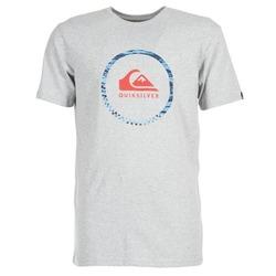 Abbigliamento Uomo T-shirt maniche corte Quiksilver ACTIVELOGO 3 Grigio