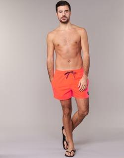 Abbigliamento Uomo Costume / Bermuda da spiaggia Quiksilver EVERYDAY SOLID VOLLEY 15 Rosso