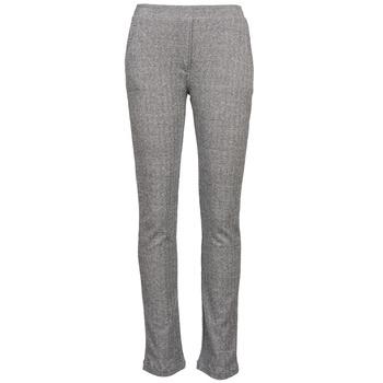 Abbigliamento Donna Pantaloni morbidi / Pantaloni alla zuava Majestic 2908 Grigio