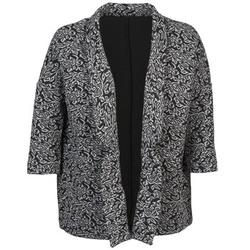 Abbigliamento Donna Giacche / Blazer Sisley FRANDA Nero / Grigio