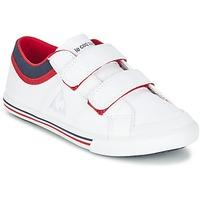 Scarpe Bambino Sneakers basse Le Coq Sportif SAINT GAETAN PS CVS Bianco / Rosso