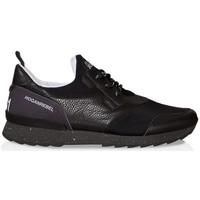Scarpe Uomo Sneakers basse Hogan Sneakers  running r261 in pelle e tessuto nero