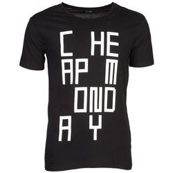 Abbigliamento Uomo T-shirt maniche corte Cheap Monday TYLER Nero