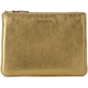 Borse Donna Pochette / Borselli Comme Des Garcons Pochette Wallet Comme des Garçons in pelle oro Oro