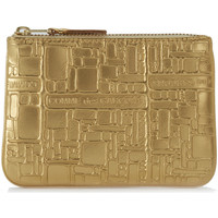 Borse Portafogli Comme Des Garcons Bustina Wallet Comme des Garçons in pelle oro stampata Oro