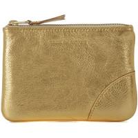 Borse Donna Porta monete Comme Des Garcons Bustina Wallet Comme des Garçons in pelle oro Oro