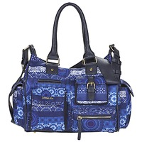 Borse Donna Borse a spalla Desigual LONDON MEDIUM BARBADOS Blu