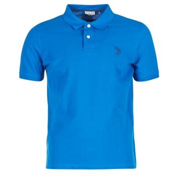 Abbigliamento Uomo Polo maniche corte U.S Polo Assn. INSTITUTIONAL Blu