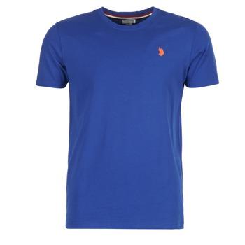 Abbigliamento Uomo T-shirt maniche corte U.S Polo Assn. DBL HORSE Blu