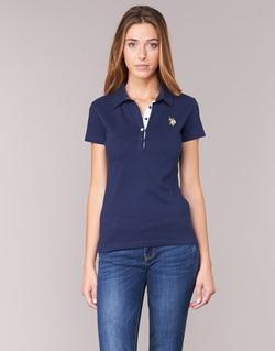 Abbigliamento Donna Polo maniche corte U.S Polo Assn. LOGO MARINE