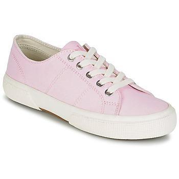 Scarpe Donna Sneakers basse Ralph Lauren JOLIE SNEAKERS VULC Rosa