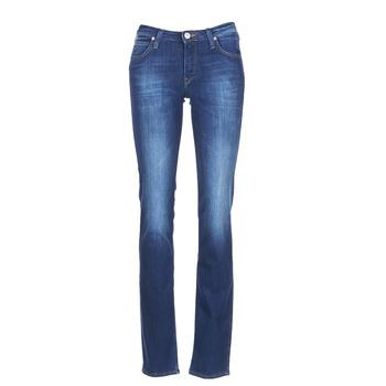 Abbigliamento Donna Jeans dritti Lee MARION STRAIGHT Blu / Medium