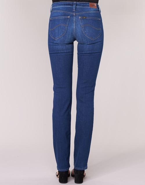 Dritti Straight Jeans Abbigliamento Gratuita BluMedium Lee Marion 6750 Consegna Donna drCBexo