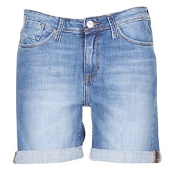 Abbigliamento Donna Shorts / Bermuda Lee BOYFRIEND SHORT Blu / Medium