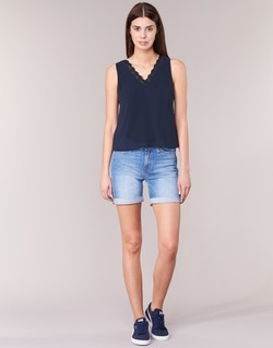 Abbigliamento Donna Shorts / Bermuda Lee BOYFRIEND SHORT Blu / MEDIUM