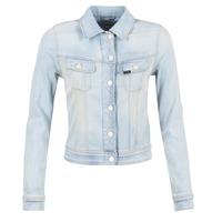 Abbigliamento Donna Giacche in jeans Lee SLIM RIDER Blu / CLAIR