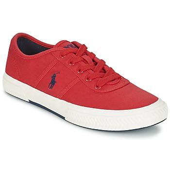 Scarpe Uomo Sneakers basse Ralph Lauren TYRIAN Rosso