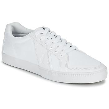 Scarpe Uomo Sneakers basse Ralph Lauren HUGH Bianco