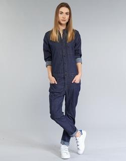 Abbigliamento Donna Tuta jumpsuit / Salopette G-Star Raw STALT 3D Blu