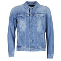 Abbigliamento Uomo Giacche in jeans G-Star Raw 3301 DECONSTRUCTED 3D SLIM Blu