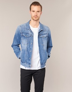 Abbigliamento Uomo Giacche in jeans G-Star Raw 3301 DECONSTRUCTED 3D SLIM Blu