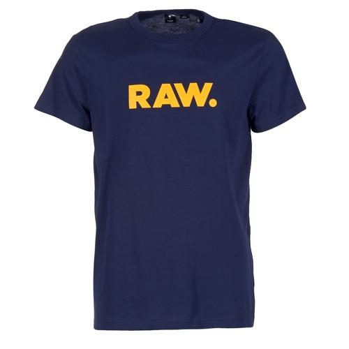 Abbigliamento Uomo T-shirt maniche corte G-Star Raw RAW DOT MARINE