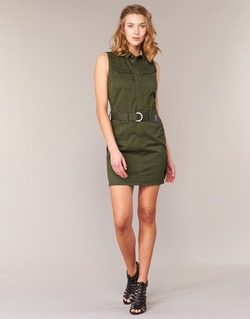 Abbigliamento Donna Abiti corti G-Star Raw ROVIC SLIM DRESS S/LESS KAKI