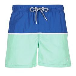 Abbigliamento Uomo Costume / Bermuda da spiaggia Gant CUT & SEWN SWIM SHORT Verde / Marine