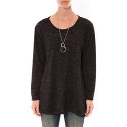 Abbigliamento Donna Tuniche Barcelona Moda Tunique  Fashion Moda Noir Nero