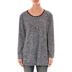 Abbigliamento Donna Tuniche Barcelona Moda Tunique  Fashion Moda Gris Grigio