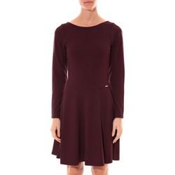 Abbigliamento Donna Abiti corti Coquelicot Robe  Col V Bordeaux 16201 Rosso