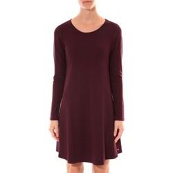 Abbigliamento Donna Abiti corti Coquelicot Robe   Col Rond Bordeaux 16202 Rosso