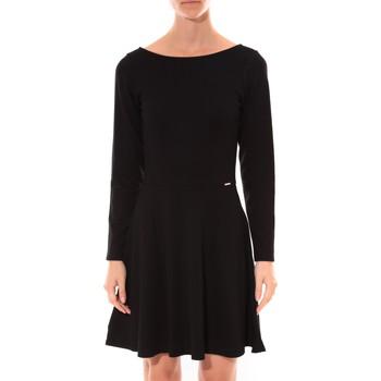 Abbigliamento Donna Abiti corti Coquelicot Robe  Col V Noir 16201 Nero