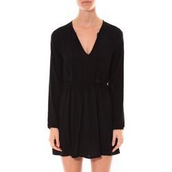 Abbigliamento Donna Abiti corti Coquelicot Robe   Col V Noir 16216 Nero