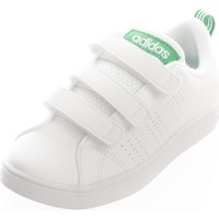 Scarpe Bambina Sneakers basse adidas Originals Vs Advantage Clean Cmf C Ftwwhite/Ftwwhite/Green