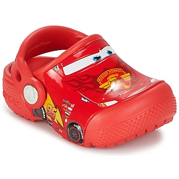 Scarpe Bambino Zoccoli Crocs Crocs Funlab Light CARS 3 Movie Clog Rosso