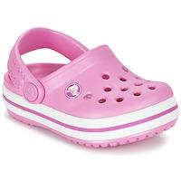Scarpe Bambina Zoccoli Crocs Crocband Clog Kids Rosa