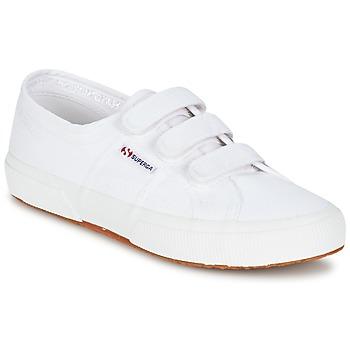Scarpe Donna Sneakers basse Superga 2750 COT3 VEL U Bianco