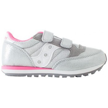 Scarpe Bambino Sneakers basse Saucony Sneakers Jazz double silver pink kids Multicolor