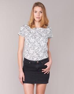 Abbigliamento Donna T-shirt maniche corte Marc O'Polo BRIDELOPAC Grigio / Bianco