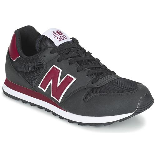 Scarpe Sneakers basse New Balance GM500 Nero / BORDEAUX