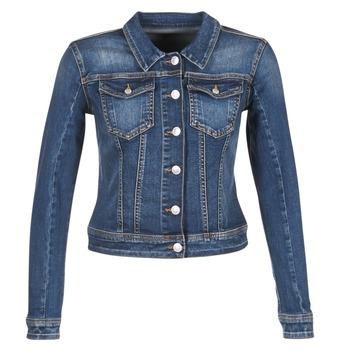 Abbigliamento Donna Giacche in jeans Meltin'pot JUSTINE Blu