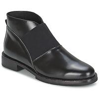 Scarpe Donna Stivaletti F-Troupe Chelsea Boot Black