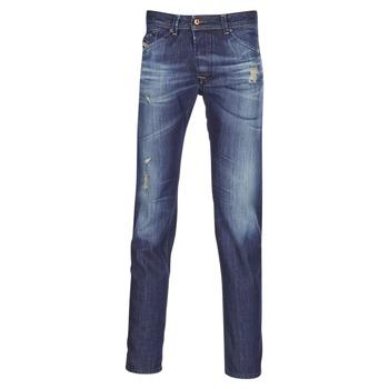 Abbigliamento Uomo Jeans dritti Diesel DARRON Blu