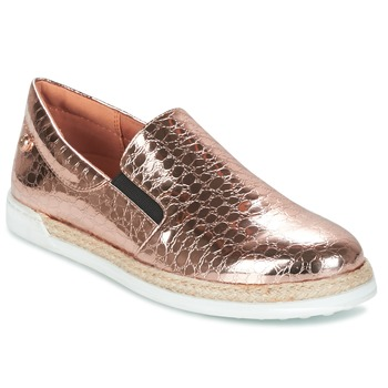Scarpe Donna Slip on Love Moschino JA10353G03 Oro / Rosa