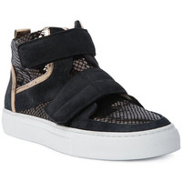Scarpe Uomo Sneakers alte Logan CROSSING Marrone