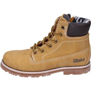 Scarpe Bambino Stivaletti Blaike scarpe bambino  stivaletti giallo pelle AH151 giallo